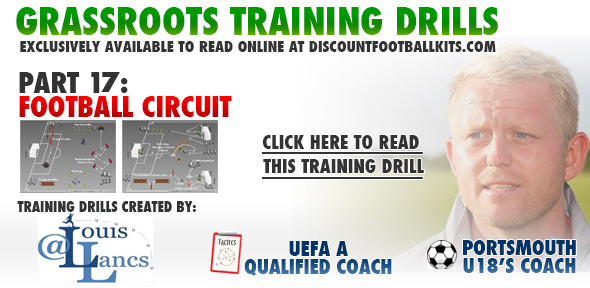 Football Circuit Training Drill