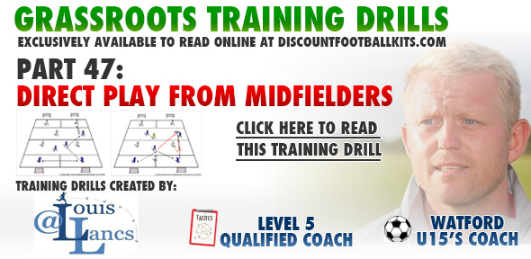 Direct Play From Midfield Players