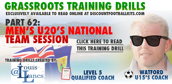 Men's U20's National Team Session
