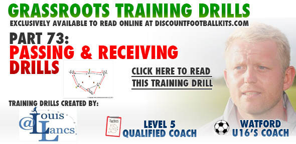 Passing and Receiving Drills