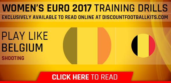 Women's Euro 2017 Training Drills: Belgium