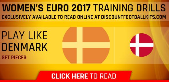 Women's Euro 2017 Training Drills: Denmark