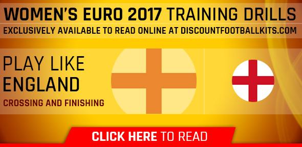 Women's Euro 2017 Training Drills: England