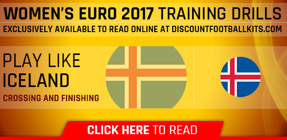 Women's Euro 2017 Training Drills: Iceland