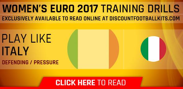 Women's Euro 2017 Training Drills: Italy