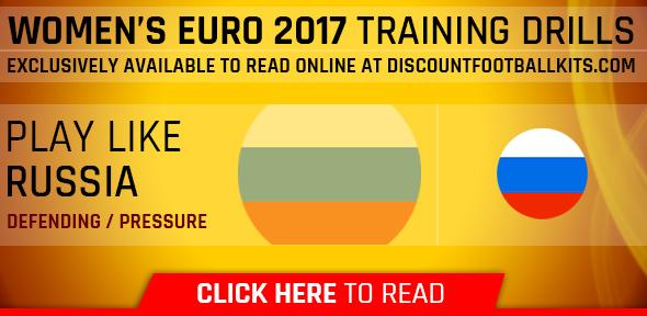 Women's Euro 2017 Training Drills: Russia
