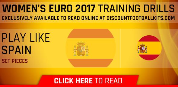 Women's Euro 2017 Training Drills: Spain