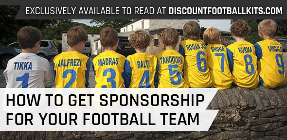 How To Get Sponsorship For Your Grassroots Football Team