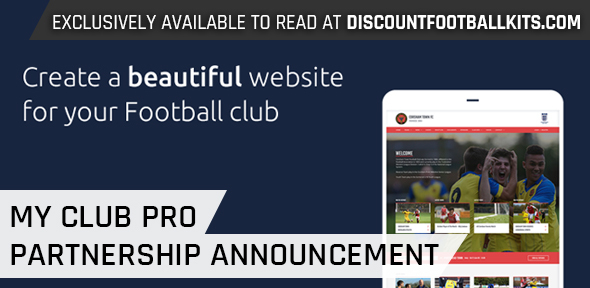 Discount Football Kits Partners with MyClubPro