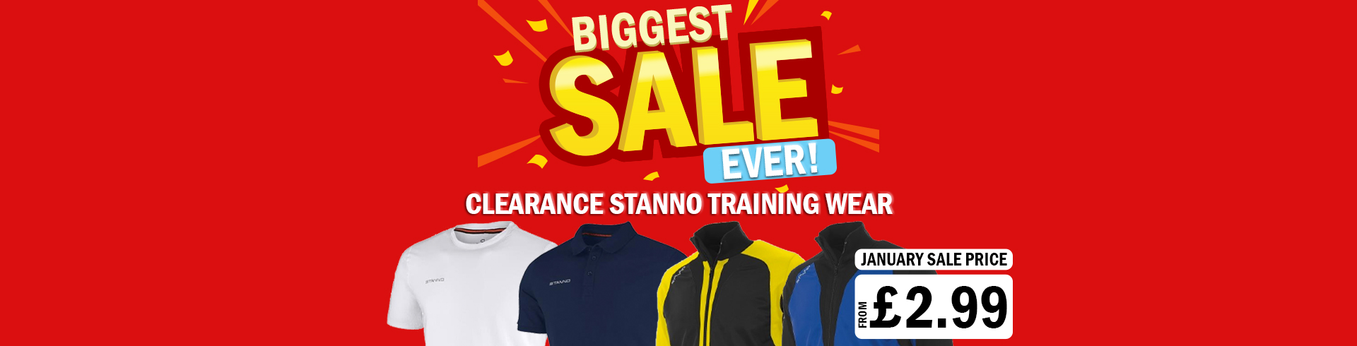 STANNO TRAINING WEAR
