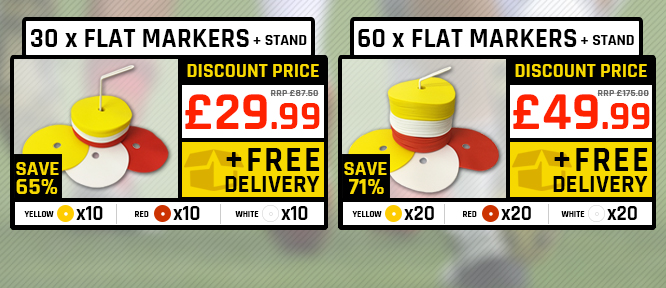 flat markers promo