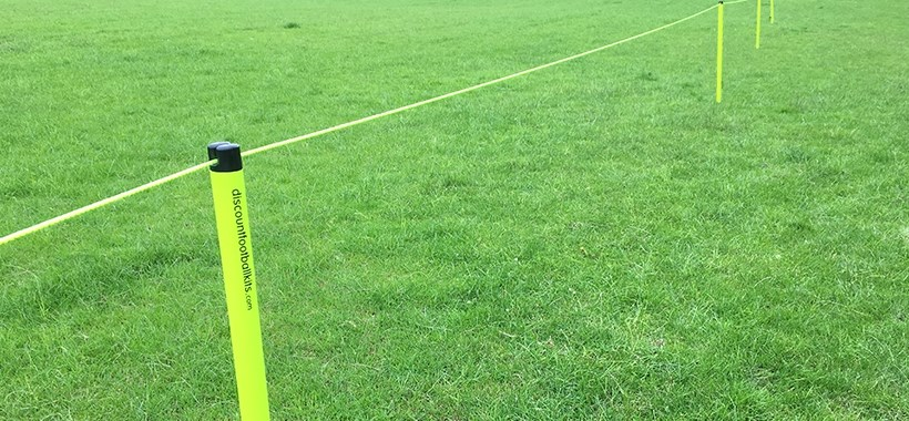 60m & 120m Hi Vis Football Crowd Barrier