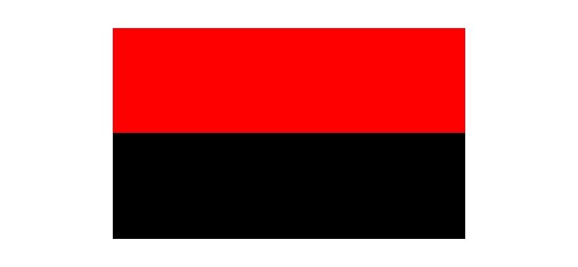 2 Colour Corner Flags