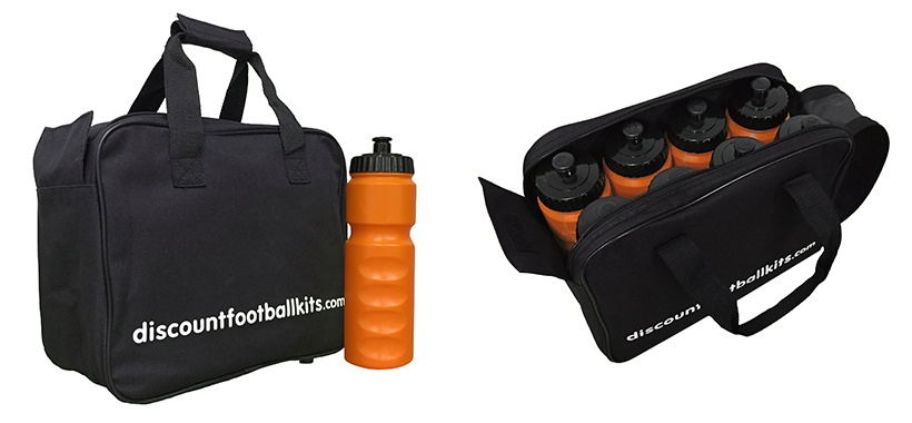 8 Water Bottles & Carry Bag