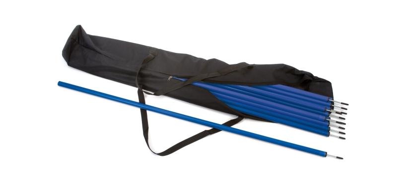 30 x Slalom Poles & Carry Bag