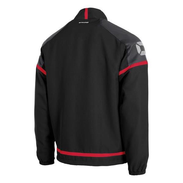 Stanno Prestige Black/Red Micro Jacket