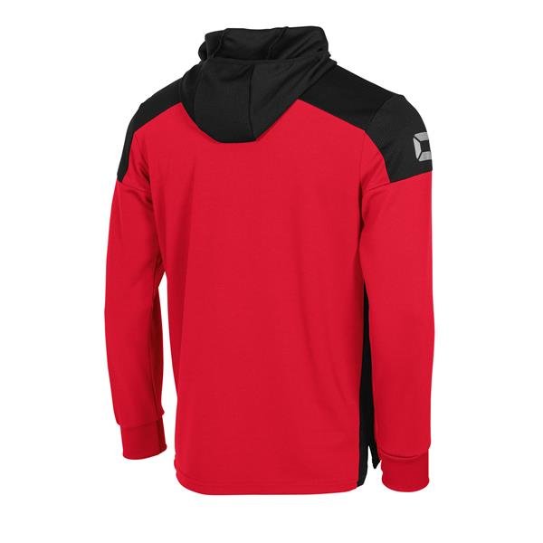 Stanno Pride Red/Black Hooded Sweat