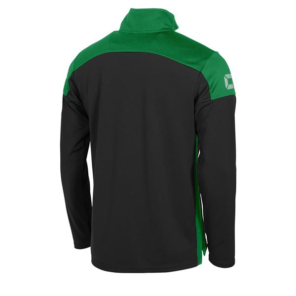 Stanno Pride Black/Green Training 1/4 Zip Top