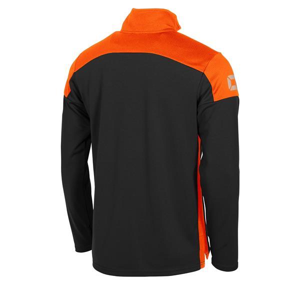 Stanno Pride Black/Orange Training 1/4 Zip Top