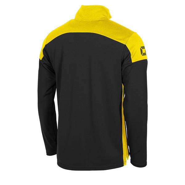 Stanno Pride Black/Yellow Training 1/4 Zip Top