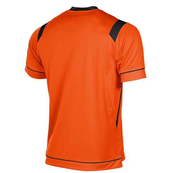 Stanno Arezzo SS Orange/Black Football Shirt