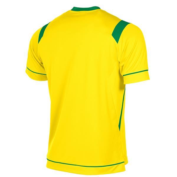 Stanno Arezzo SS Yellow/Green Football Shirt