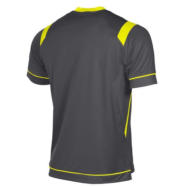 Stanno Arezzo SS Anthracite/Neon Football Shirt