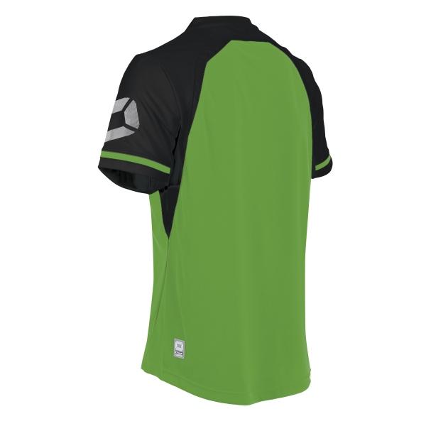Stanno Liga Bright Green/Black SS Football Shirt