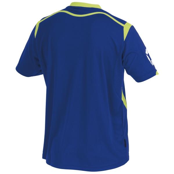 Stanno Torino SS Deep Blue/Neon Yellow Football Shirt