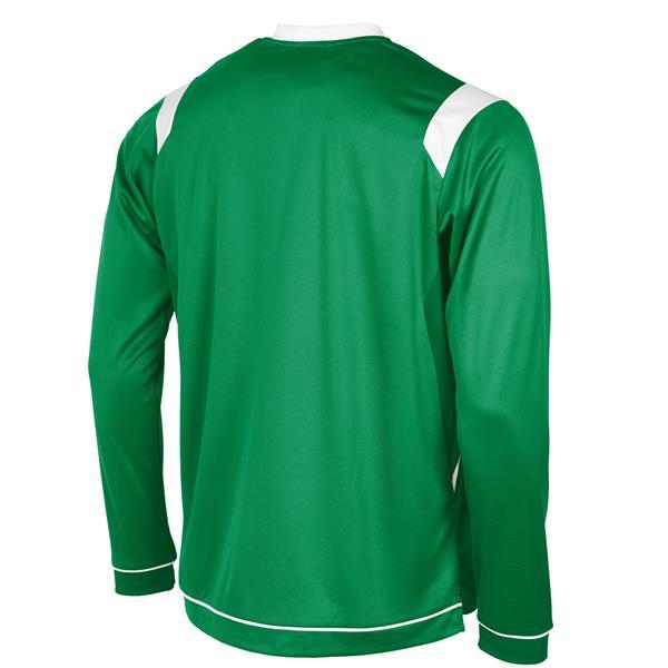 Stanno Arezzo LS Green/White Football Shirt
