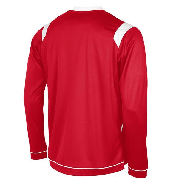 Stanno Arezzo LS Red/White Football Shirt