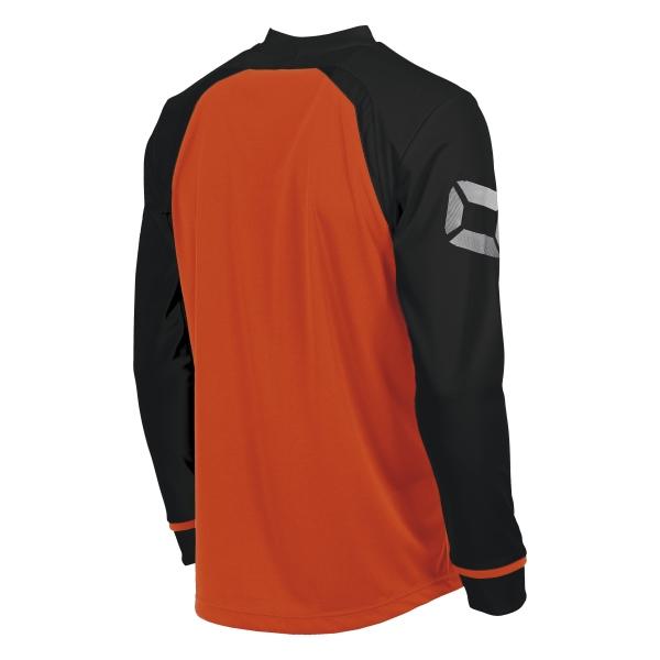 Stanno Liga Shocking Orange/Black LS Football Shirt