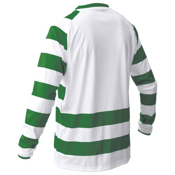 Stanno Lisbon Green/White Football Shirt