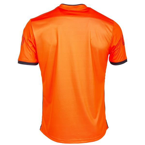 Stanno Fusion Shocking Orange/Black SS Football Shirt