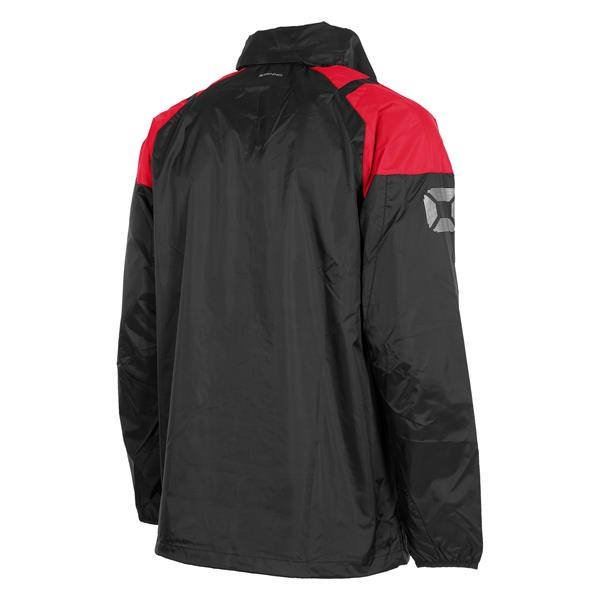 Stanno Centro All Weather Jacket Black/Red