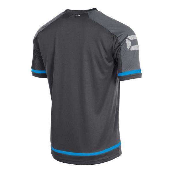 Stanno Prestige Dark Grey/Blue T-Shirt