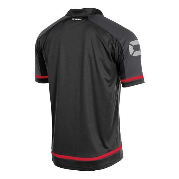 Stanno Prestige Black/Red Polo