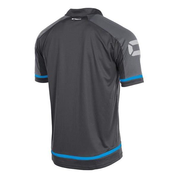 Stanno Prestige Dark Grey/Blue Polo
