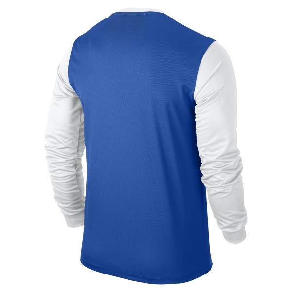 Nike Victory II Royal Blue/White Long Sleeve Football Shirt