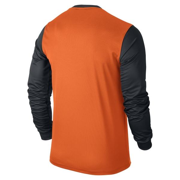 Nike Victory II Safety Orange/Black Long Sleeve Football Shirt
