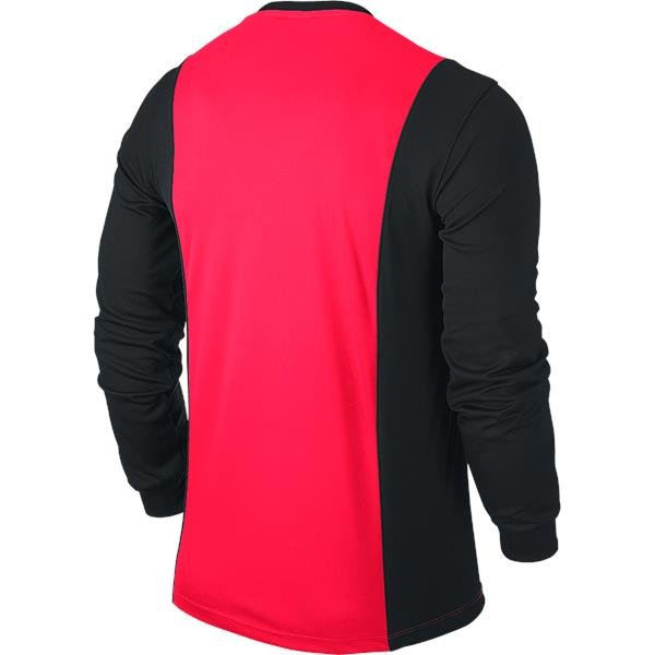 Nike Park Derby Solar Red/Black Long Sleeve Football Shirt