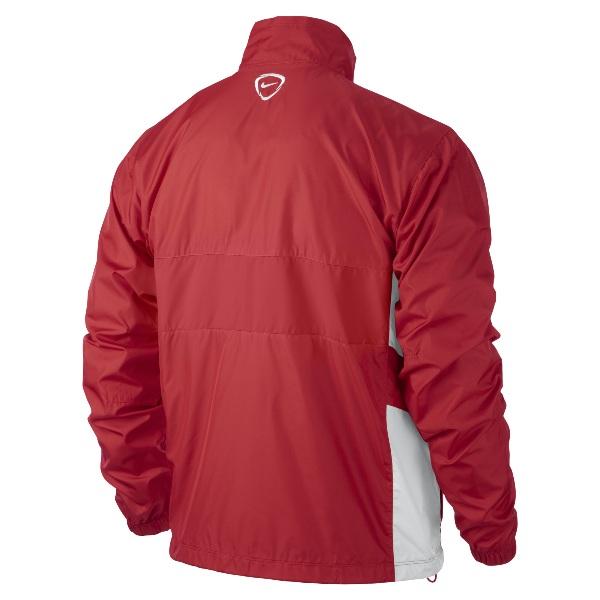Nike Academy 14 University Red/White Sideline Woven Jacket