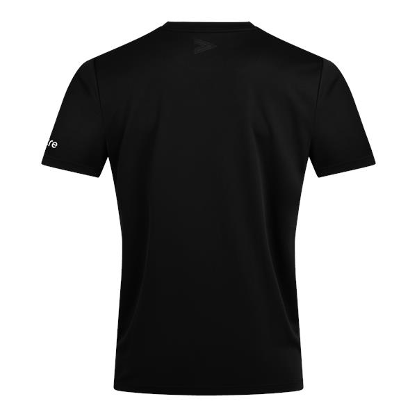 Mitre Delta Plus Black/White T-Shirt