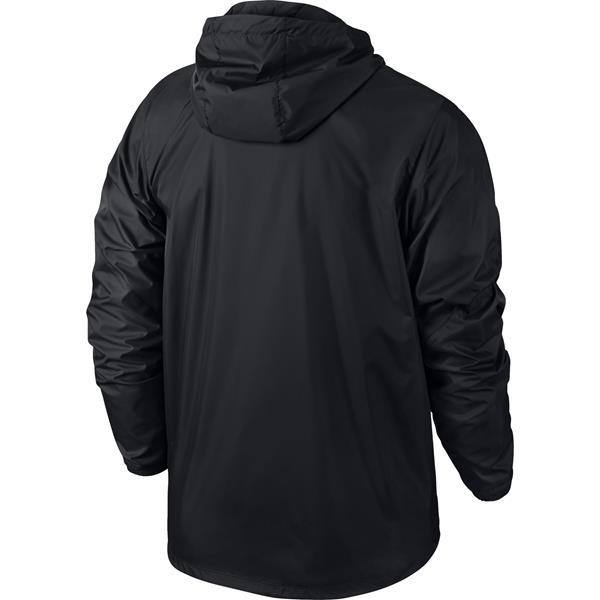 Nike Team Sideline Black/White Rain Jacket