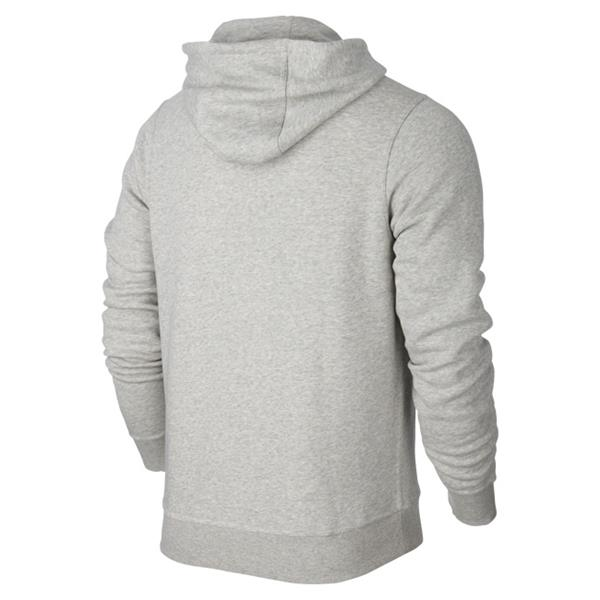 Nike Lifestyle Grey Heather/White Team Club Hoody