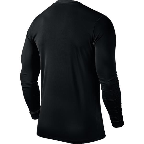 Nike Park VI LS Football Shirt Black/White