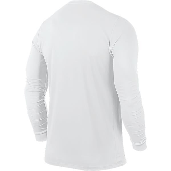 Nike Park VI LS Football Shirt White/Black