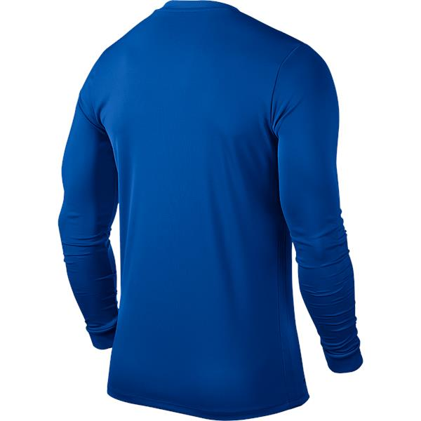 Nike Park VI LS Football Shirt Royal Blue/White