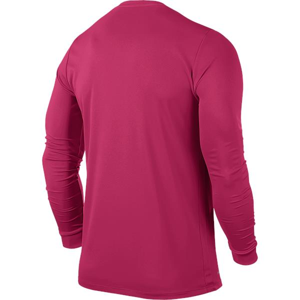 Nike Park VI LS Football Shirt Vivid Pink/Black