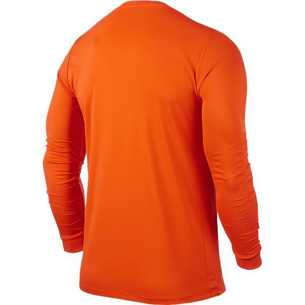 Nike Park VI LS Football Shirt Safety Orange/Black